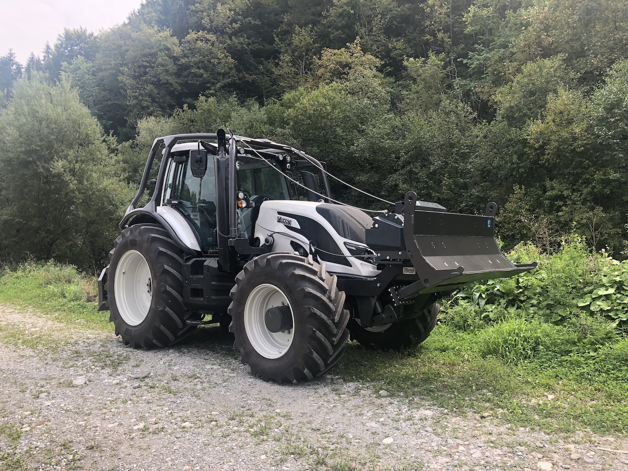 FORESTRY UPGRADES ON TRACTOR